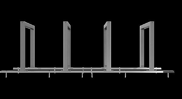 Fahrradständer als Reihenanlage VKT 60x60 mm