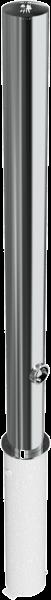 Edelstahlpoller DMR.76 mm herausnehmbar