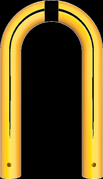 Rammschutzbügel DMR 76 mm gelb/schwarz
