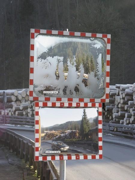 DURABEL IceFree Verkehrsspiegel
