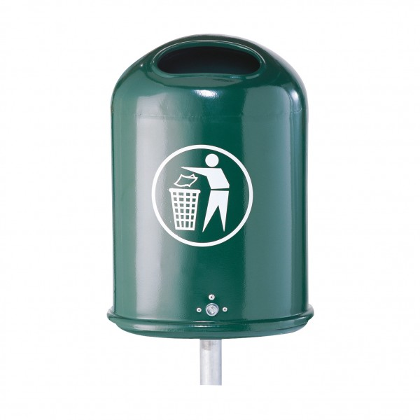 Abfallbehälter Oval ca. 45 L