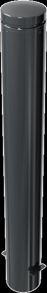 Stilpfosten DMR.155 mm, Alukopf mit Ziernut, ortsfest