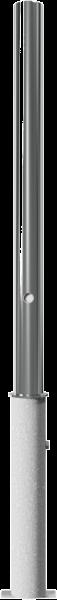 Edelstahlpoller DMR.60mm herausnehmbar