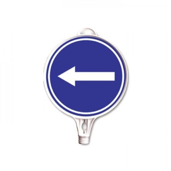 Hinweisschild Fahrrichtung