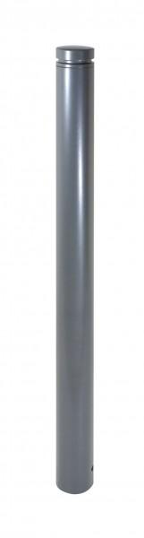 Stilpfosten DMR.102 mm, Alukopf mit Ziernut, herausnehmbar