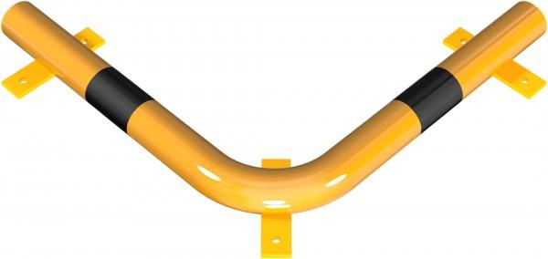 Eck-Rammschutzbalken DMR 76 mm, zum Aufdübeln