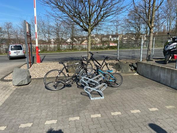 Fahrradständer Bügelparker doppelseitig