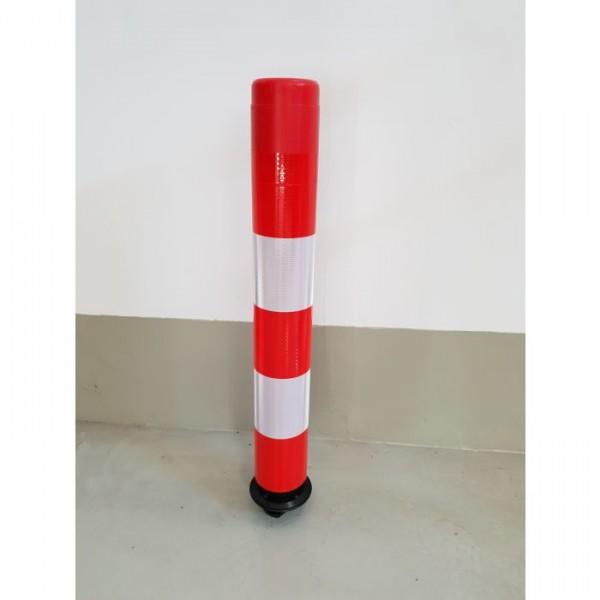 LeitPin DMR 100 mm rot-weiß-760 mm -Leitzylinder