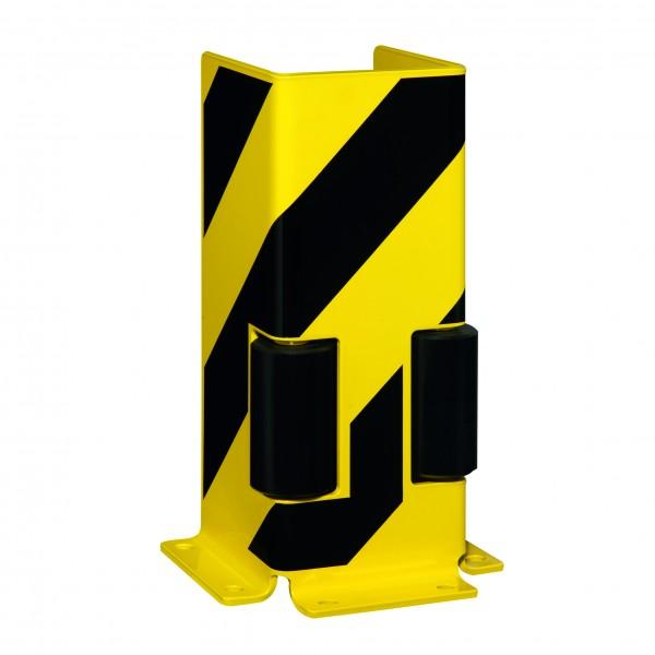 Anfahrschutz mit Leitrolle U-Form