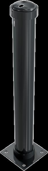 Stilpfosten DMR. 108 mm. mit Zierkopf , ortsfest