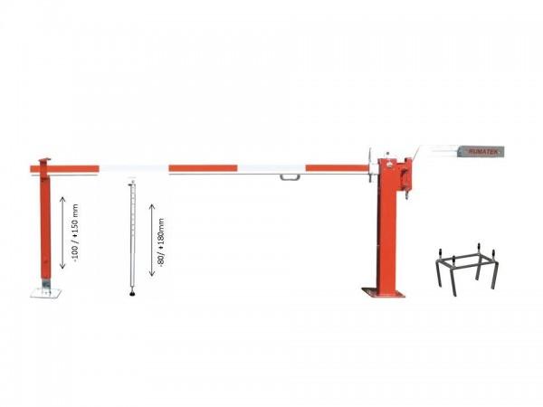 Gegengewichtskschranke Standard 41 bis 6,0 mtr