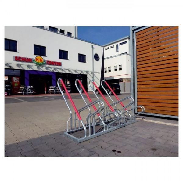 Fahrradständer mit Anlehenbügel 2 Einstellplätze