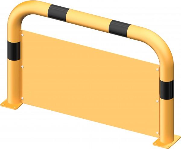 Rammschutzbügel mit Unterfahrschutz DMR 76 mm gelb/schwarz