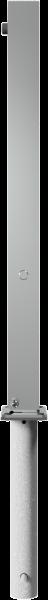 Edelstahlpoller 70x70mm. mit Flachkopf umlegbar