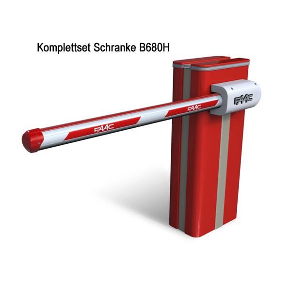 FAAC Schranke B680H Auswahlset
