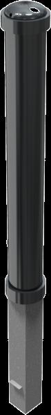 Stilpfosten DMR.108 mm, mit Zierkopf , herausnehmbar