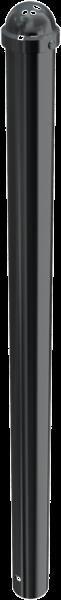 Stilpfosten DMR. 76mm. mit Halbrundkopf, ortsfest