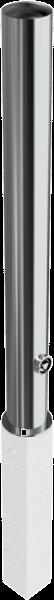 Edelstahlpoller DMR. 102 mm herausnehmbar