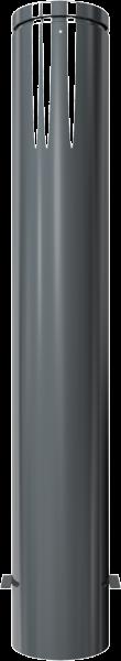 Stilpfosten DMR.193 mm. Alukopf mit Ziernut , ortsfest