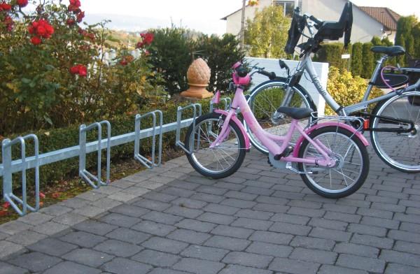 Fahrradständer Reihenparker, 6 Stellplätze