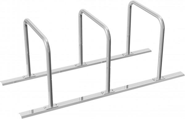 Fahrradständer als Reihenanlage DMR.48 mm