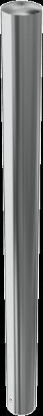 Edelstahlpoller DMR.89 mm, ortsfest