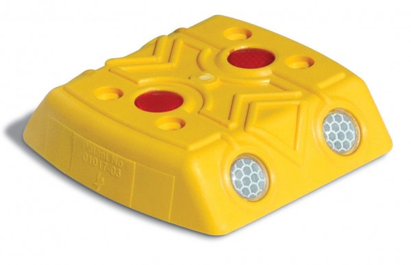 Markierungsnagel, gelb, 120x120x28 mm