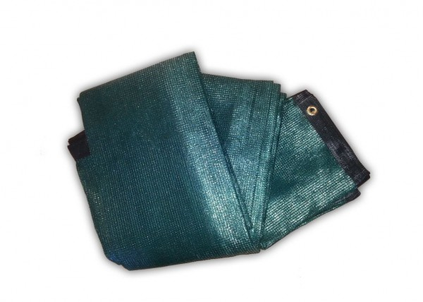 15 Stück Bauzaunnetze grün für Bauzaun Standard