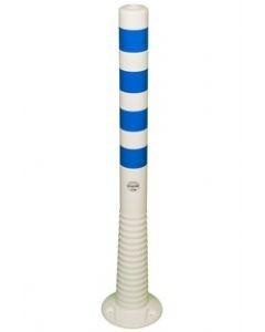 Flexipfosten weiß-blau