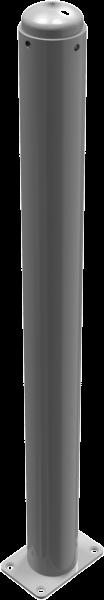 Stilpfosten DMR. 82 mm. mit Zierkopf , ortsfest