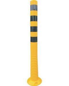 Flexipfosten gelb-schwarz