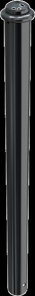 Stilpfosten DMR. 82 mm. mit Zierkopf, ortsfest