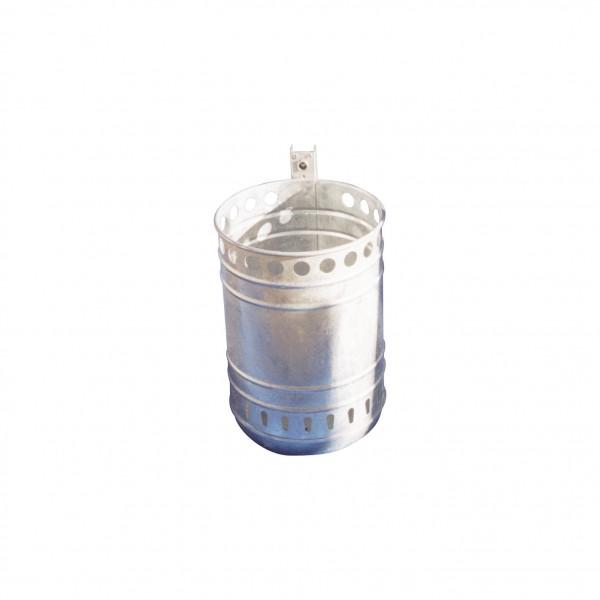 Abfallbehälter ca. 40L mit Ascher