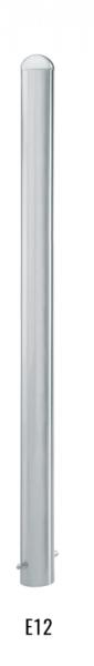 Edelstahlpoller DMR.76 mm mit halbrundkopf ortsfest