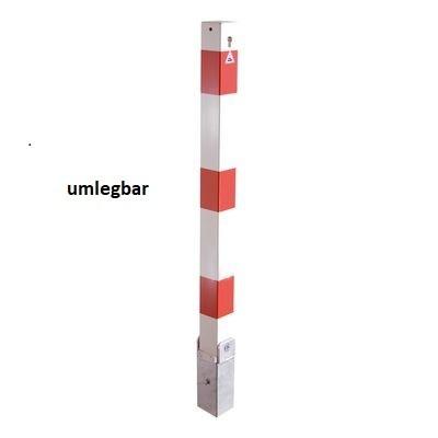 Sperrpfosten VKT 70x70 mm Hebe-Kippmechanik